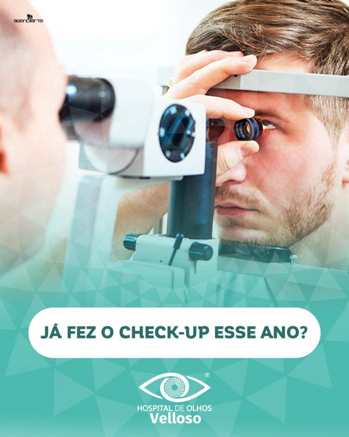 Já Fez o check-up esse ano?